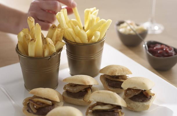 Burger Slider premium fries